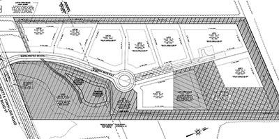 Southern View Estates - neighborhood site map